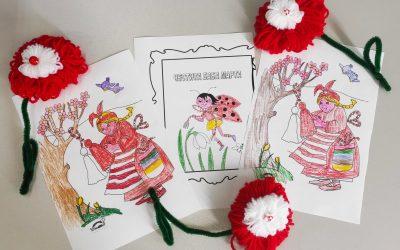 Красиви мартенички и картички изработиха учениците със СОП от ПГТМД